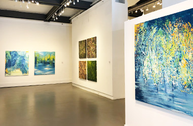Read about Agora Gallery's Exhibitions