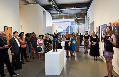 Read about Agora Gallery's promotion & publicity